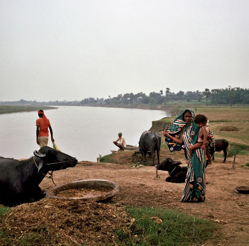 India's holiest river is drying up