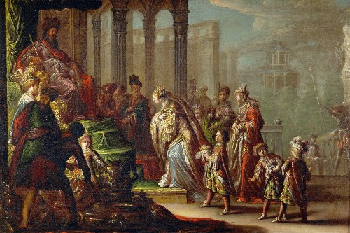The wealthy, wise reign of King Solomon made Israel prosper