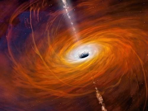 Black Hole Fails to Destroy Mystery Cosmic Cloud