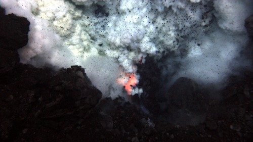 Seafloor Eruptions Triggered by Tides, Ice Ages