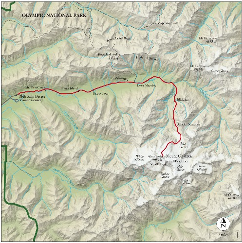 Best Hikes in the Parks: Trail Maps
