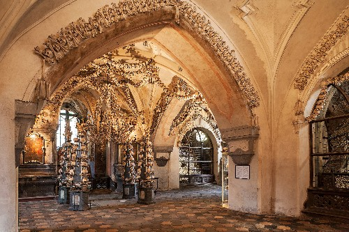 Bones of 30,000 Plague Victims Decorate This Church