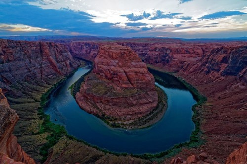 The bend at sunset Photo by eric ebling — National Geographic Your Shot