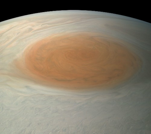 Jupiter's Great Red Spot May Soon Disappear...