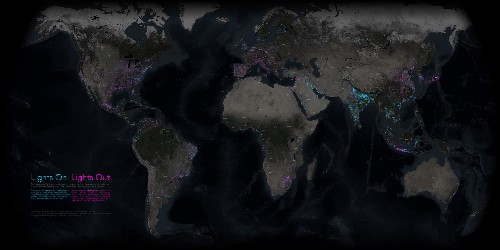 New Nighttime Map Shows Earth in Whole New Light