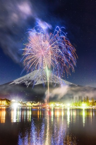Winter fireworks Photo by Eiichi Aizawa — National Geographic Your Shot