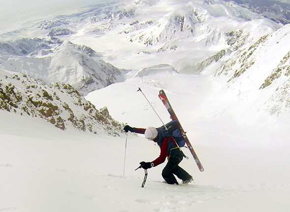 Kilian Jornet on Going Up and Down Denali in Less Than 12 Hrs.