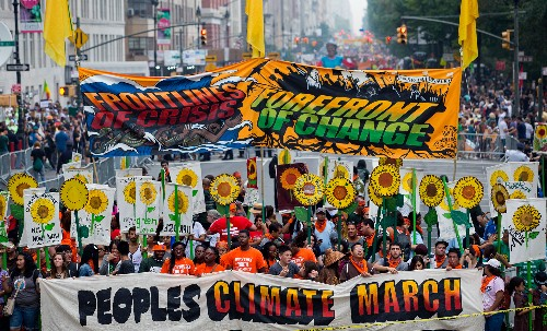 With UN Climate Summit Opening, Marchers Rallied Around the World