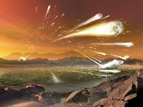 Freshwater Creatures Less Affected by Dino-Killing Asteroid