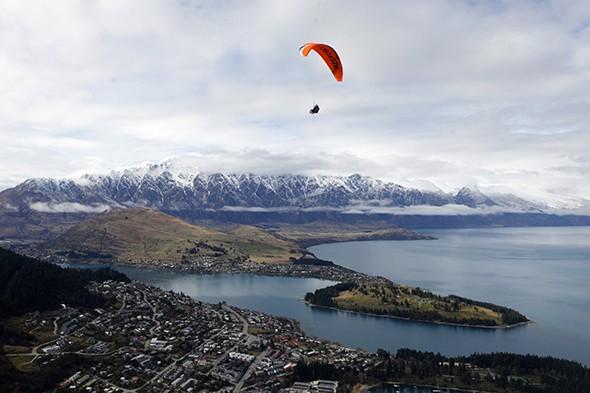 Just Back: Queenstown, New Zealand