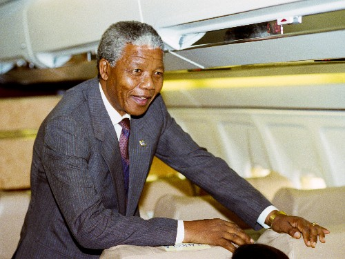 First Person: Riding Along on Nelson Mandela's First U.S. Tour