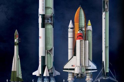 Explore 60 years of rockets