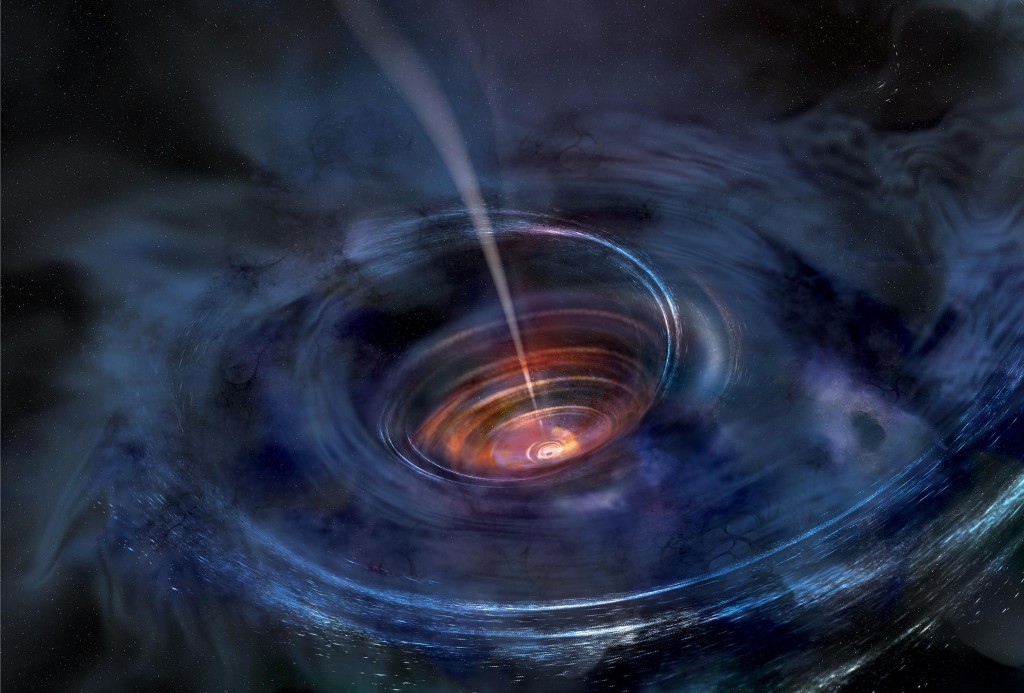 Astronomers just got a deep peek at a black hole