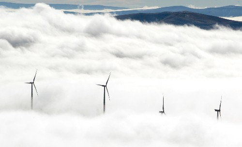 Too Much Wind Energy? Save It Underground in Volcanic Rock Reservoirs