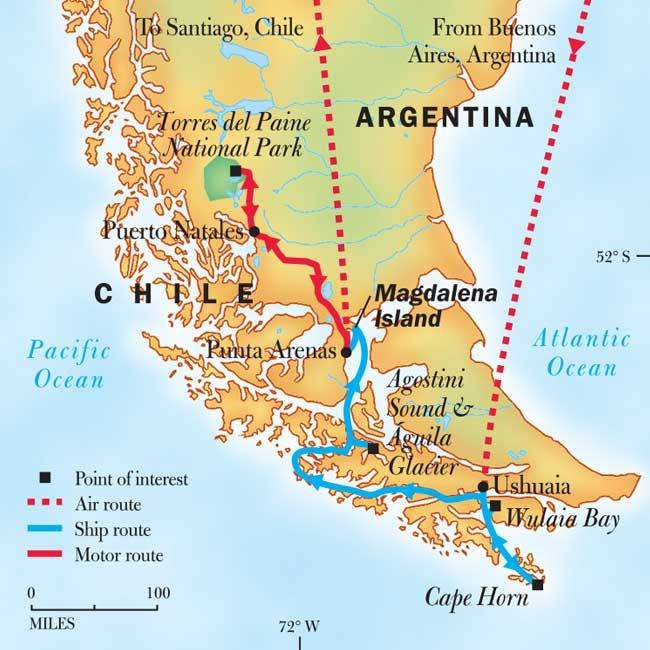 Trips to Patagonia: Patagonia Cruise 2018