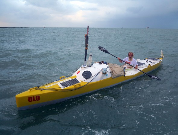 67-Year-Old Transatlantic Kayaker's Goal Achieved, Expedition Continues