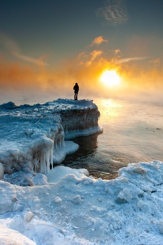 Encounters on Ice Photo by Ryan Bigelow — National Geographic Your Shot