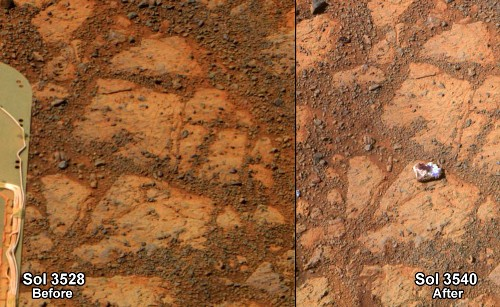 """""""Doughnut Rock"""" Added to Mars's Mystery Object Hall of Fame"""