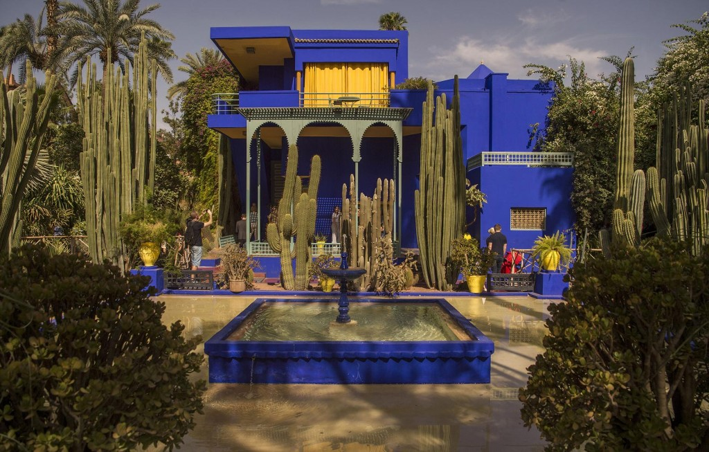 Visit a designer's oasis in the heart of Marrakech