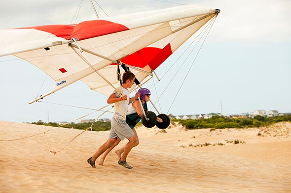 Adventure 101: Hang Gliding the Outer Banks