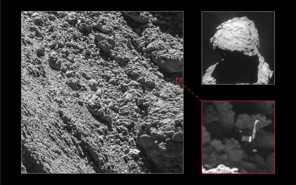 Rosetta's Comet Encounter  - Magazine cover