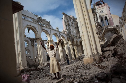 Haiti Photos Then and Now: 5 Years After Earthquake, Much Rebuilding Remains