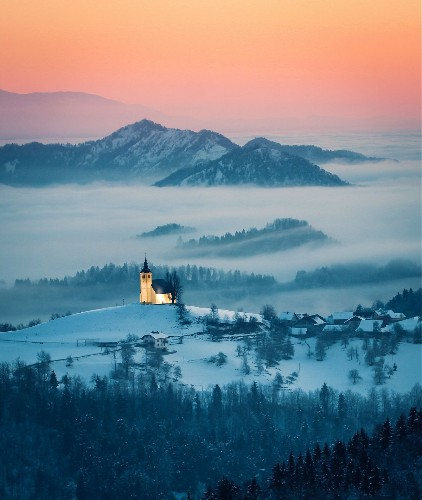 Winter morning mood Photo by Nina Lozej — National Geographic Your Shot