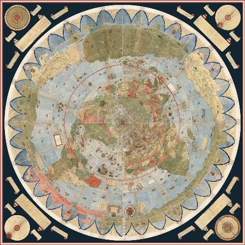 Bizarre, Enormous 16th-Century Map Assembled for First Time