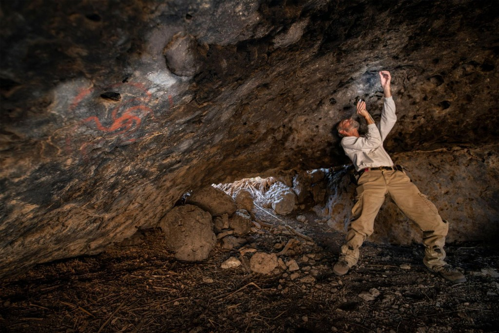 400 years ago, visitors to this painted cave took hallucinogens