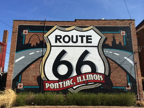 Route 66: Pit-Stop in Pontiac