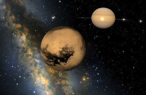 Naked Titan Viewed For First Time