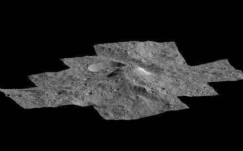 Dozens of Ice Volcanoes Discovered on Nearby Dwarf Planet