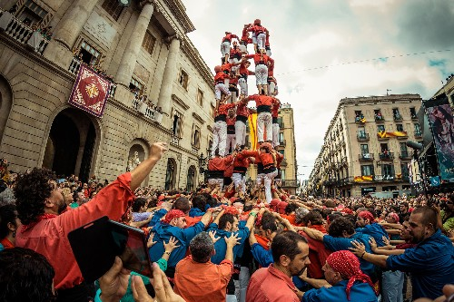 These Tremendous Human Towers Defy Gravity