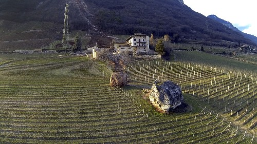 Bizarre Landslide Photos: Boulders Roll Onto Farm, Narrowly Missing House