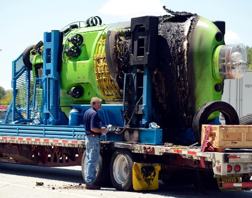 Sub That Made Deep-Sea History Damaged in Highway Fire