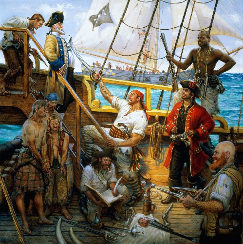 When Not Treasure Hunting, Pirates Practiced Democracy