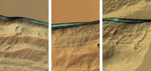 Huge Water Reserves Found All Over Mars