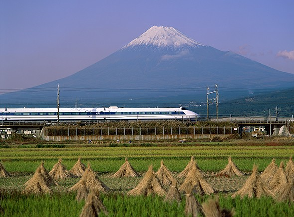 Japan by Bullet Train