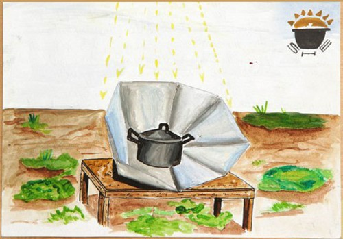 How a Solar Stove Became a Comic Book Hero