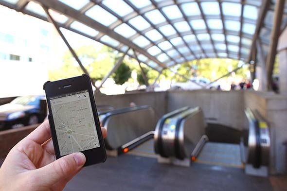 Smart Traveler, Smartphone