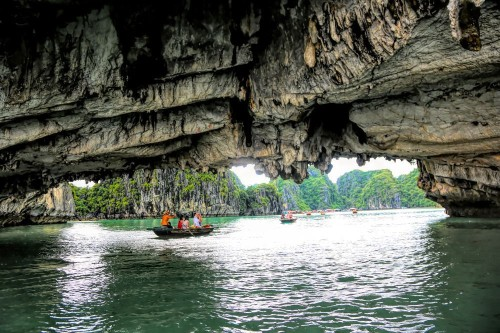 Limestone Arch Ha Long Bay Vietnam Photo by Chuck Kuhn — National Geographic Your Shot