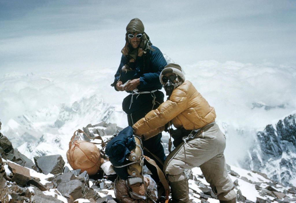 He's the last surviving member of the first expedition to summit Everest