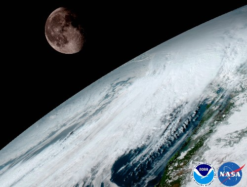 Earth Shines in Dramatic New Pictures From Space
