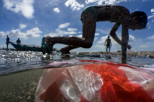 Beach clean-up study shows global scope of plastic pollution