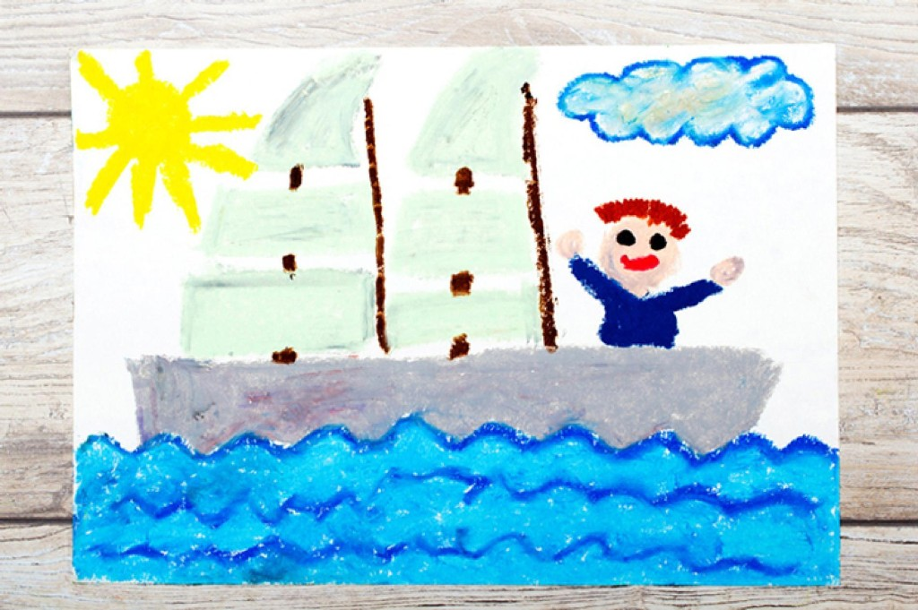Keep kids inspired with crafty DIY postcards