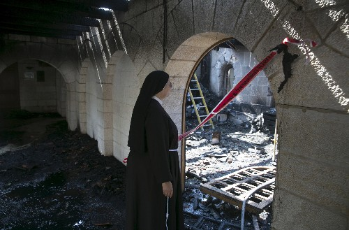 Jewish Extremists' Attacks Rattle Christians in Holy Land
