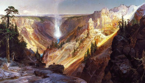 How art saved Yellowstone—and the landscape still inspires