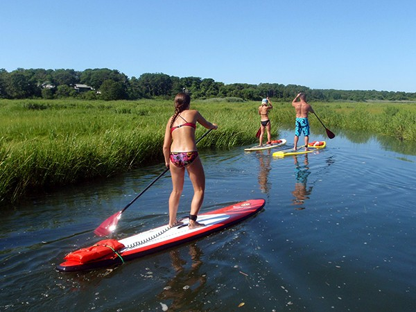 Massachusetts: Try Stand-Up Paddleboarding (SUP)
