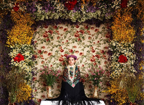 Surreal Flower Altars Define This Ancient Spring Tradition