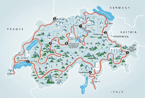The Grand Tour of Switzerland